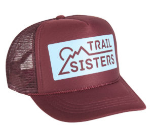 TS Trucker - Maroon & Light Blue