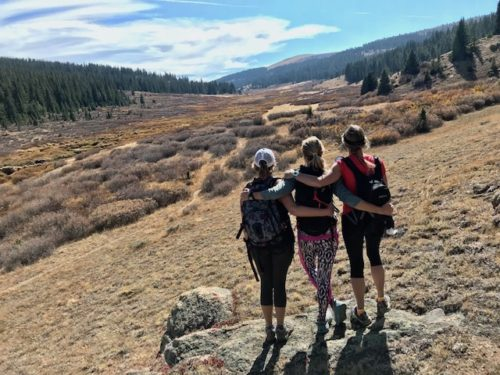 trail stewardship and sisters